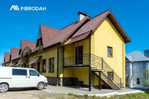 FIBRODAH - покрівля для даху